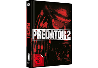 Predator 2 UHD (Media Book) Exklusiv  Cover B - (4K Ultra HD Blu-ray + Blu-ray)