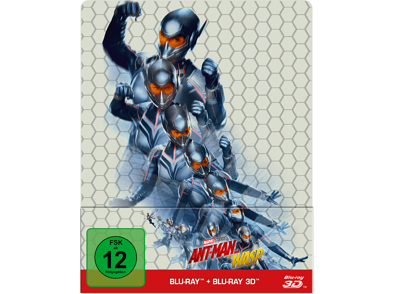 Ant-Man and the Wasp (Steelbook) [3D Blu-ray (+2D)]