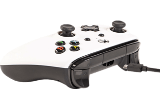 POWER A XboxOne & Windows10 Wired Controller Controller, Weiß