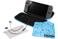 POWER A Switch Travel Kit Crash Bandicoot Nintendo Switch Tasche, Schwarz/Blau