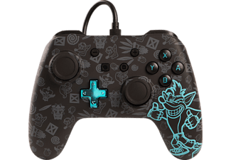 POWER A Switch Wired Controller Crash Bandicoot, Controller, Schwarz/Blau
