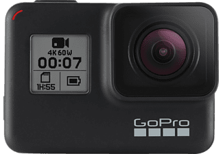 GOPRO HERO7 Black Action Cam 4K , WLAN, Touchscreen