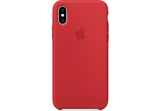 apple iphone xs silikon case product red mrwc2zm a. Black Bedroom Furniture Sets. Home Design Ideas
