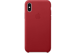 APPLE iPhone XS Leder Case – (PRODUCT)RED (MRWK2ZM/A)