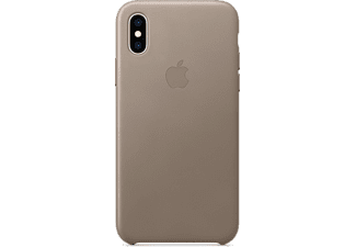 apple iphone xs leder case taupe mrwl2zm a mediamarkt. Black Bedroom Furniture Sets. Home Design Ideas