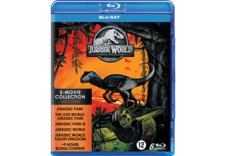 Jurassic World: 5 Movie Collection - Blu-ray