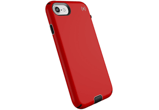 SPECK Cover Presidio Sport iPhone 8/7 Heartrate Red / Sidewalk Grey / Black (104441-6685)