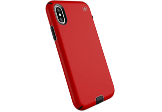 SPECK Cover Presidio Sport iPhone Xs/X Heartrate Red / Sidewalk Grey / Black (104443-6685)