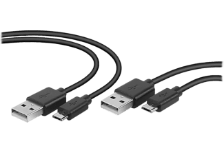 SPEEDLINK Stream USB-kabel set Play & Charge (SL-450104-BK)
