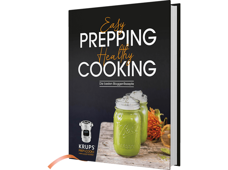 KRUPS HP1234.01 Prep&Cook Blogger Easy Prepping, Healthy Cooking Kochbuch