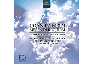 Remigio, Amaru, Gatell, Rovaris, Orchester Donizettiopera - Messa Di Requiem - (CD)