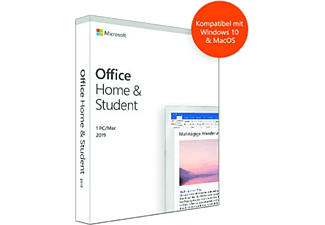 Office Home & Student 2019, 1 PC/MAC