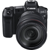 CANON EOS R +RF24-105MM/F4.0 L IS USM+AD. EF-EOS R Systemkamera 30.3 Megapixel mit Objektiv 24-105 mm f/4.0, 8.01 cm Display   Touchscreen, WLAN