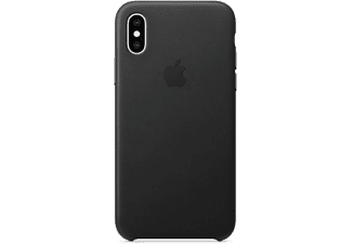 apple iphone xs leder case schwarz mrwm2zm a mediamarkt. Black Bedroom Furniture Sets. Home Design Ideas