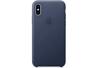 APPLE iPhone XS Leder Case – Mitternachtsblau (MRWN2ZM/A)