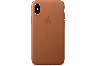 apple iphone xs leder case sattelbraun mrwp2zm a. Black Bedroom Furniture Sets. Home Design Ideas