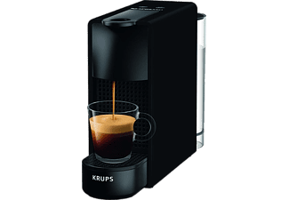 KRUPS Nespresso Kaffeemaschine Essenza Mini XN110N in Matt Schwarz