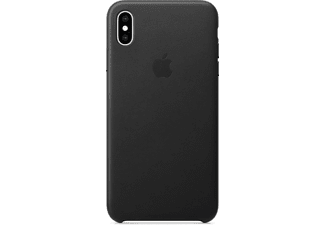 apple iphone xs max leder case schwarz mrwt2zm a. Black Bedroom Furniture Sets. Home Design Ideas