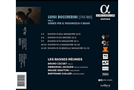Bruno Cocset, Les Basses Réunies - Boccherini Vol. 2 Sonate per il violoncello [CD]