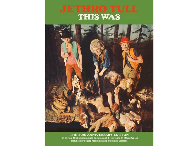 Jethro Tull - This Was (50th Anniversary Edition) [CD + DVD Audio]