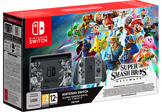 NINTENDO Switch inkl Super Smash Bros Ultimate
