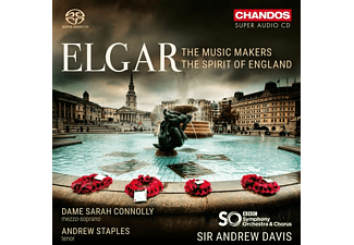 Andrew Davis & Bbc Symphony Orchestra - The Music Makers/The Spirit of England - (SACD Hybrid)