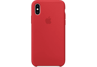APPLE Cover Silicone iPhone Xs (Product)Red Rouge (MRWC2ZM/A)