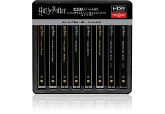 Harry Potter 4K Steelbook Complete Collection (16-Discs) - (4K Ultra HD Blu-ray + Blu-ray)