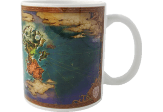 NUMSKULL Ni No Kuni World Map Mug Tasse, Mehrfarbig