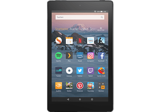 AMAZON Fire HD 8, Tablet, 16 GB, 1.5 GB RAM, 8 Zoll, FireOS 6, Android 7, Schwarz