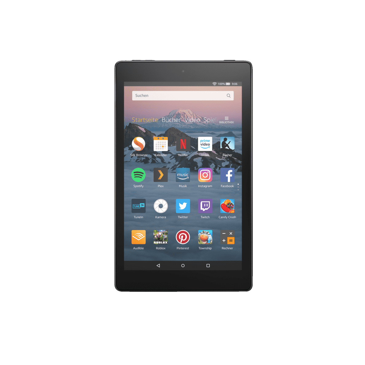 AMAZON Fire HD 8 Tablet, 16 GB in Schwarz
