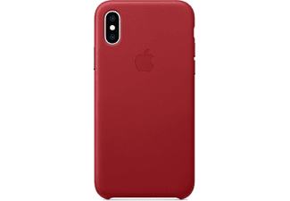 APPLE Cover en cuir iPhone Xs (Product)Red (MRWK2ZM/A)