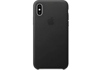 APPLE Leren Cover iPhone Xs Zwart (MRWM2ZM/A)