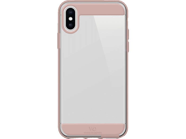 WHITE DIAMONDS Clear , Backcover, Apple, iPhone Xs, iPhone 7 Plus/iPhone 6/6s Plus, Thermoplastisches Polyurethan (TPU), Rosegold