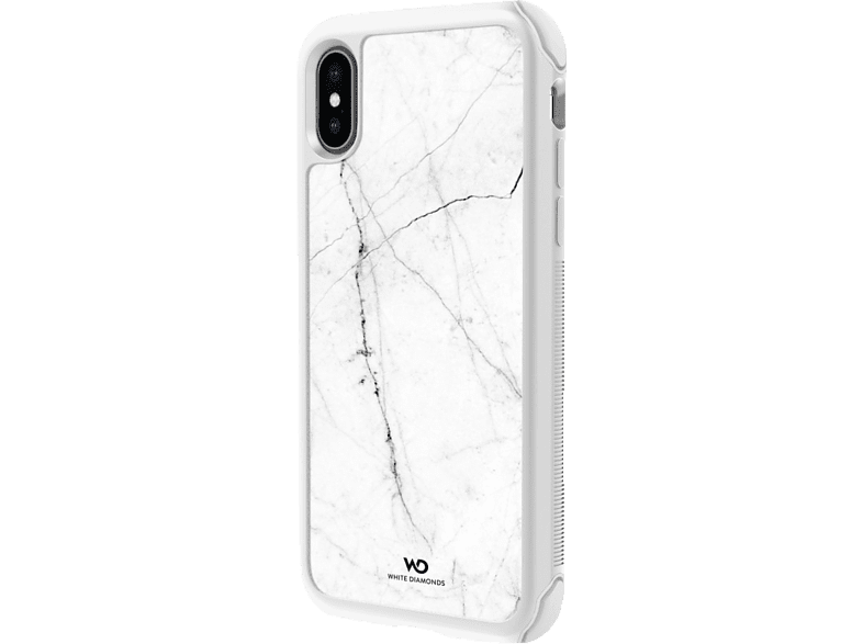 WHITE DIAMONDS Tough Marble Backcover Apple iPhone X, iPhone XS Weiß | 04260460958808