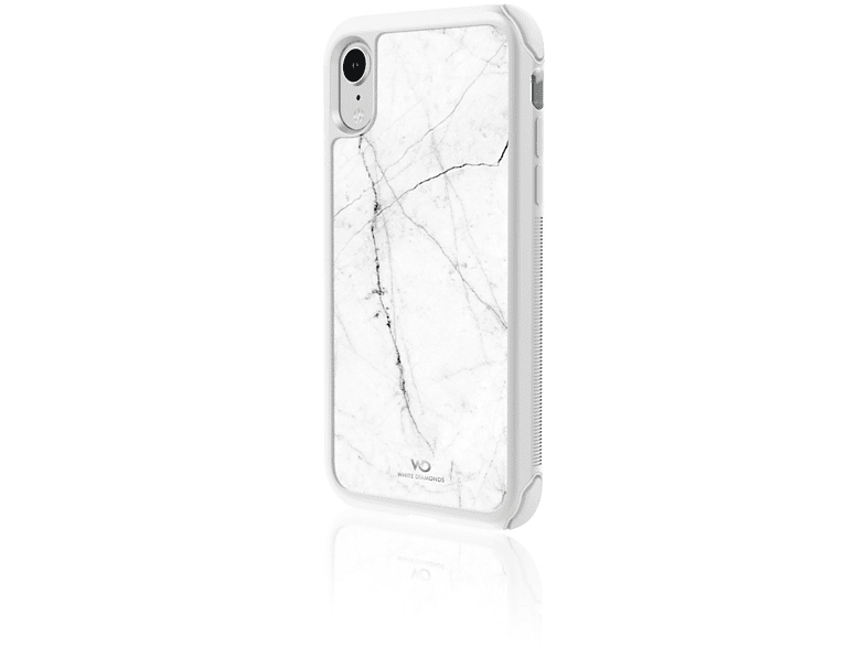 WHITE DIAMONDS Tough , Backcover, Apple, iPhone X, Weiß
