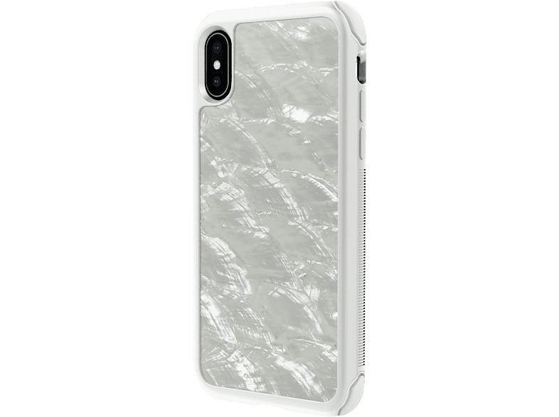 WHITE DIAMONDS Tough Backcover Apple iPhone XS  Pearl