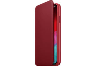 APPLE Cover Folio en cuir iPhone Xs Max (Product)Red (MRX32ZM/A)
