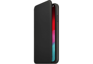 APPLE Cover leren Folio iPhone Xs Max Zwart (MRX22ZM/A)