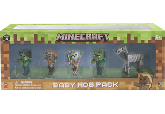 AMS Minecraft Baby Mop Pack Figur, Mehrfarbig