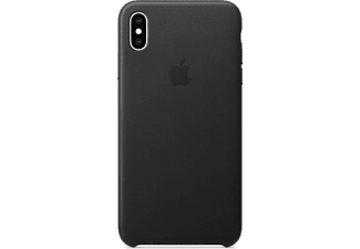 APPLE Leren cover iPhone Xs Max Zwart (MRWT2ZM/A)