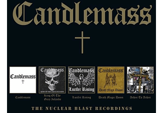 Candlemass - The Nuclear Blast Recordings (5CD Box) - (CD)