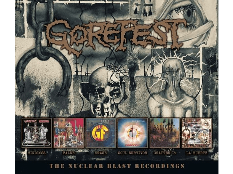 Gorefest - The Nuclear Blast Recordings (6CD Box) [CD]