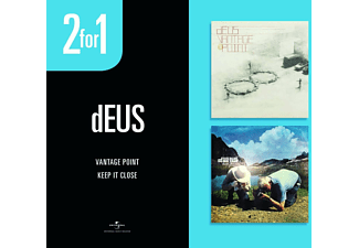 2 for 1: dEUS - Vantage Point / Keep You Close CD