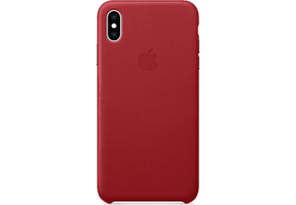 APPLE Leren cover iPhone Xs Max (Product)Red (MRWQ2ZM/A)