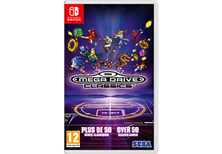 SEGA Megadrive Classics UK/FR Switch