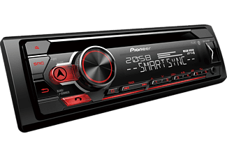 pioneer autoradio deh s410bt 1 din cd tuner mit bluetooth. Black Bedroom Furniture Sets. Home Design Ideas