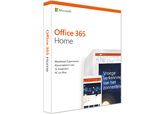 Office 365 Home (NL) | Tot 6 personen