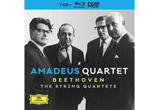 The Amadeus Quartet - The String Quartets (Ltd.Edt.) - (CD + Blu-ray Audio)