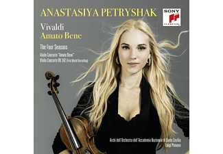 Anastasiya Petryshak, Orchestra Dell'accademia Nazionale Di Santa Cecilia - Amato Bene / The Four Seasons - (CD)